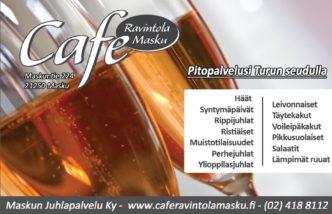 Cafe Masku juhla Facebook